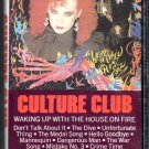 Culture Club - Waking Up With The House On Fire Cassette Tape