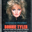Bonnie Tyler - Faster Than The Speed Of Night Cassette Tape