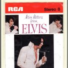 Elvis Presley - Love Letters From Elvis England 8-track tape