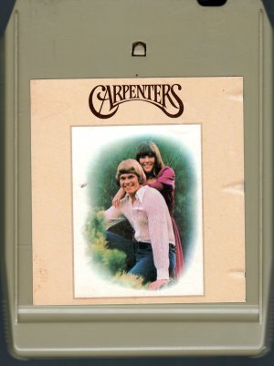 The Carpenters - Carpenters 8-track tape