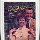 Bill Anderson And Jan Howard - If It's All The Same To You RARE Decca 8-track tape