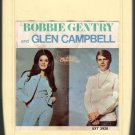 Bobbie Gentry And Glen Campbell - Bobbie Gentry & Glen Campbell 1968 CAPITOL 8-track tape