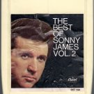 Sonny James - The Best Of Sonny James Vol 2 1969 CAPITOL A20 8-track tape