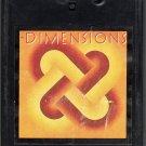 Dimensions - Various Artist 1981 K-TEL 8-track tape