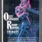 Ozzy Osbourne Randy Rhoads - Tribute Cassette Tape