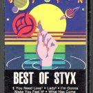 Styx - The Best of Styx Cassette Tape