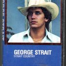 George Strait - Strait Country Cassette Tape