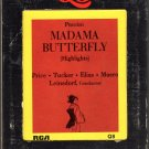 Price Tucker Elias Maero Leinsdorf - Puccini Madama Butterfly Quadraphonic 8-track tape
