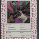 Foxy - Get Off Sealed 8-track tape