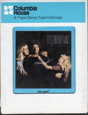 Fleetwood Mac - Mirage 1982 8-track tape