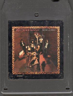 REO Speedwagon - Nine Lives 1979 EPIC 8-track tape