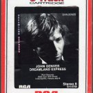 John Denver - Dreamland Express 1985 RCA 8-track tape