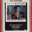 Herb Alpert - Wild Romance RARE 1985 RCA Sealed 8-track tape