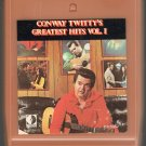 Conway Twitty - Greatest Hits Vol 1 Decca 8-track tape