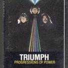 Triumph - Progressions Of Power Cassette Tape