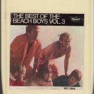 The Beach Boys - The Best Of Vol 3 1968 8-track tape