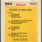 Sam Cooke - The Best Of RCA T4 8-track tape