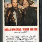 Merle Haggard & Willie Nelson - Pancho & Lefty Cassette Tape