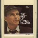 Frank Sinatra - The Best Of Frank Sinatra 1968 Capitol 8-track tape