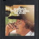 Mac Davis - Stop And Smell The Roses Quadraphonic 8-track tape