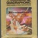 Santana - Illuminations with Alice Coltrane Quadraphonic 8-track tape