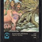 Black Oak Arkansas - High On The Hog 8-track tape