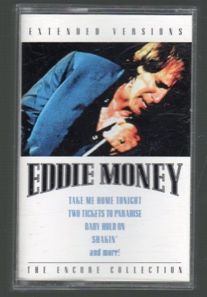 Eddie Money - Extended Versions The Encore Collection BMG Cassette Tape