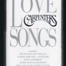 The Carpenters - Love Songs Cassette Tape
