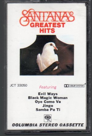 Santana - Greatest Hits Cassette Tape