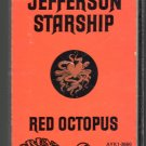 Jefferson Starship - Red Octopus Cassette Tape