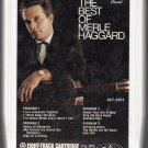Merle Haggard and The Strangers - The Best Of 8-track tape
