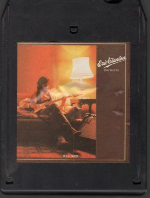 Eric Clapton - Backless 8-track tape