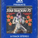 Star Trackin' 76 - 20 Original Hits 20 Original Artists Ronco A28 8-track tape