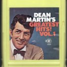 Dean Martin - Greatest Hits Vol. 1 Reprise A1 8-track tape