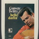 Conway Twitty - Hello Darlin' Decca 8-track tape