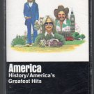 America - History Greatest Hits Cassette Tape