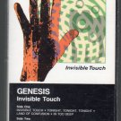 Genesis - Invisible Touch Cassette Tape