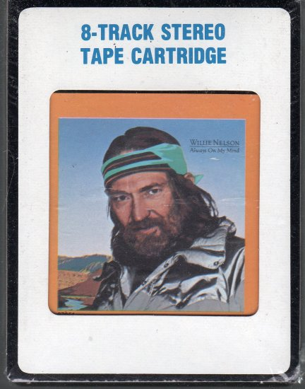Willie Nelson - Always On My Mind Sealed 8-track tape