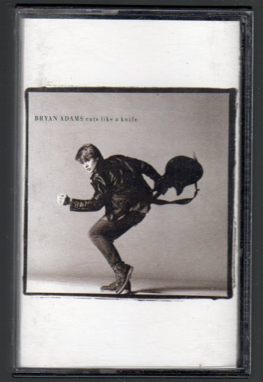 Bryan Adams - Cuts Like A Knife Cassette Tape