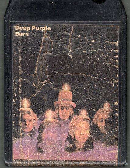 Deep Purple - Burn 8-track tape