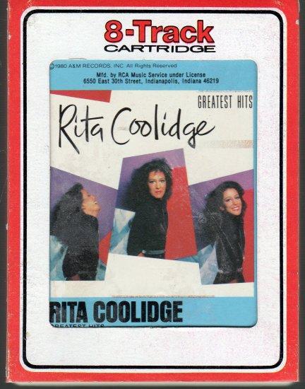Rita Coolidge - Greatest Hits RCA 8-track tape