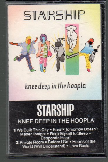 Jefferson Starship - Knee Deep In The Hoopla Cassette Tape