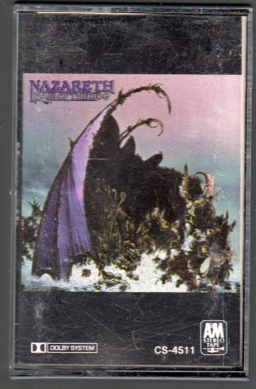 Nazareth - Hair Of The Dog Cassette Tape