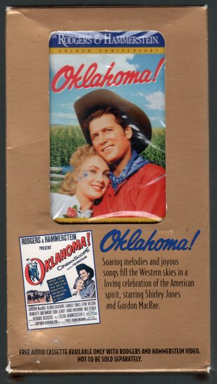 Rodgers & Hammerstein - Oklahoma! Promotional Boxed Sealed Cassette Tape