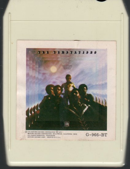 The Temptations - 1990 ( Gordy ) 8-track tape