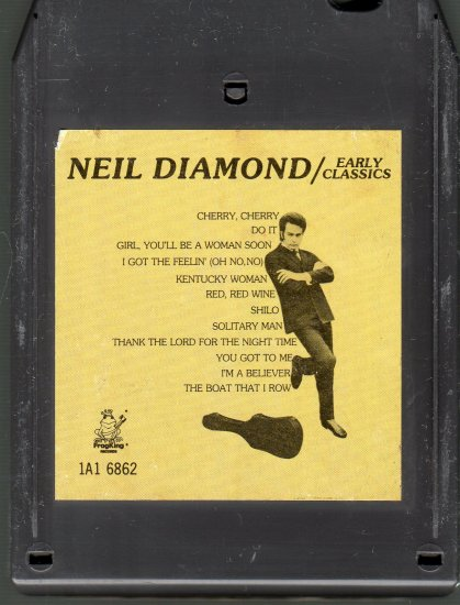 Neil Diamond - Early Classics CRC A43 8-track tape