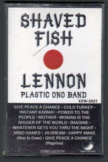 John Lennon - Shaved Fish Cassette Tape
