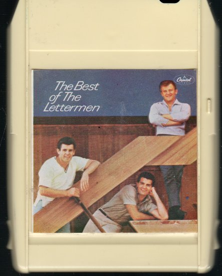 The Lettermen - The Best Of 1966 CAPITOL 8-track tape