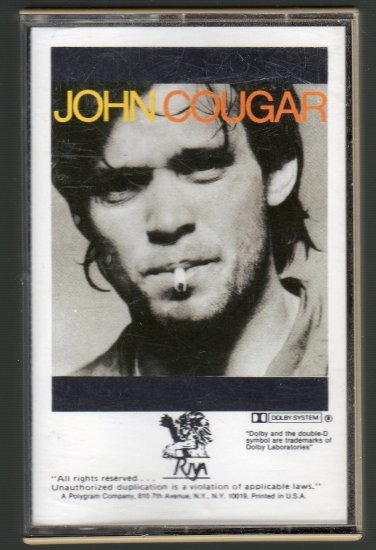 John Cougar - John Cougar Cassette Tape