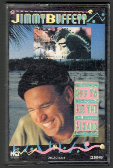 Jimmy Buffett - Off To See The Lizard Cassette Tape